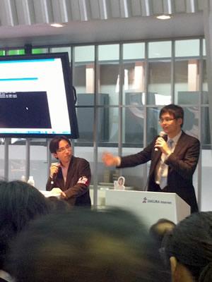 @IT副編集長 西村氏によるさくらインターネット代表田中への公開取材。鋭い質問がバンバン投げかけられました。