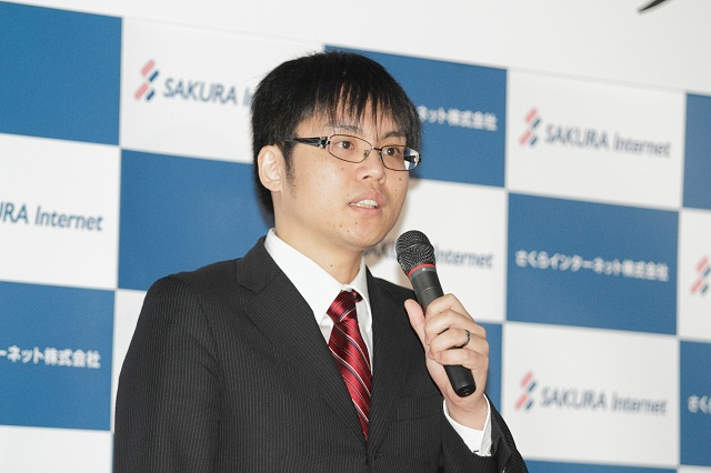 さくらインターネット 代表取締役 社長 田中 邦裕